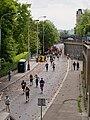 Pražský maraton, Nábřežní z Jiráskova mostu, celek.jpg