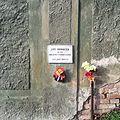 Praha, Vršovice, pamětní deska, Jiří Horáček (1).jpg