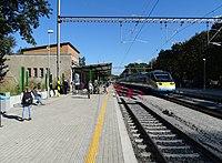 Praha-Klánovice, provizorní nástupiště, pendolino.jpg