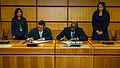 President Director of PT Batan Teknologi Yudiutomo Imardjoko Bernadib and CTBTO Executive Secretary Lassina Zerbo signing the Radioxenon Emissions Pledge (10837286443).jpg