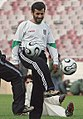 President Mahmoud Ahmadinejad, Iran's national football (soccer) team - 28 February 2006 (9 8412090596 L600).jpg