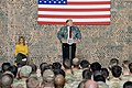 President Trump the First Lady Visit Troops in Iraq (46502773671).jpg