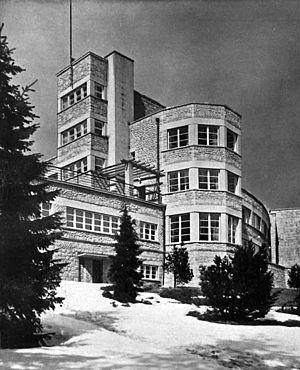 Adolf Szyszko-Bohusz - President house in Wisla