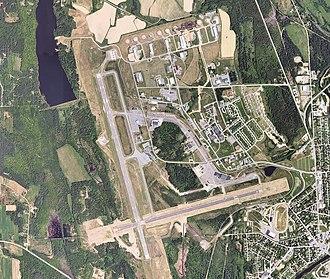 Presque Isle Air Force Base - USGS 2006 aerial photo