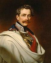 Prinz karl von bayern ölportrait von joseph bernhardt 1855