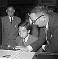 Prins Akihito in ons land (Kroonprins Japan) Assers Diamantslijperij, Bestanddeelnr 905-8590.jpg