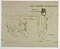 """Print, Title Page, from """"Les Vieilles Histoires, poésies de Jean Goudezki, mises en Musique de Désiré Dihou - , 1893 (CH 18484277).jpg"""