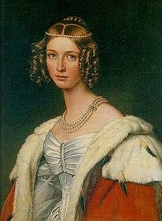 Théodolinde de Beauharnais Wurttemberg princess