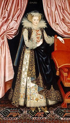 Elizabeth Cary, Viscountess Falkland - Probably Elizabeth Cary by William Larkin