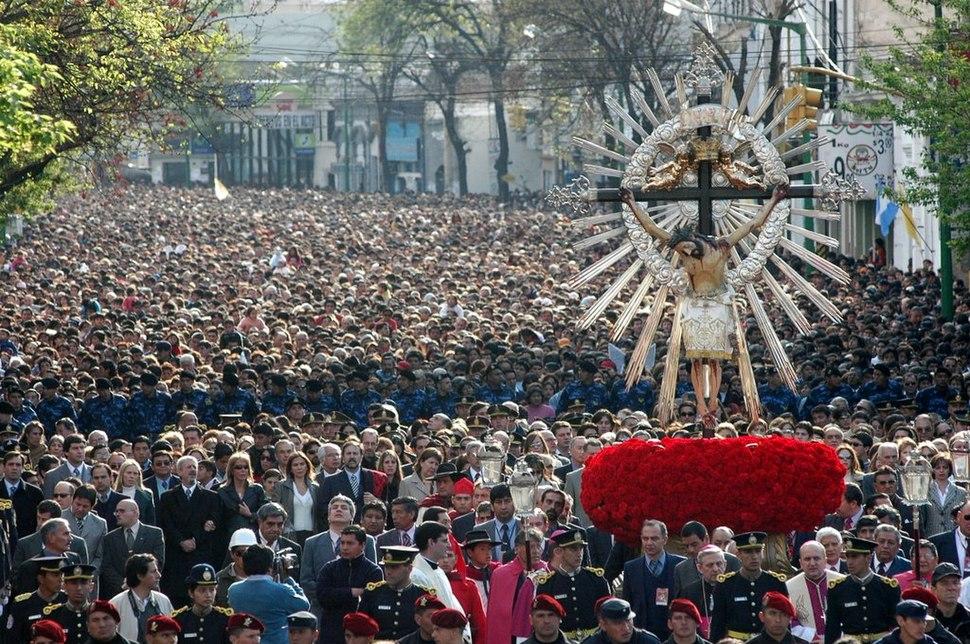 Procesión del Milagro en la provincia de Salta - Argentina