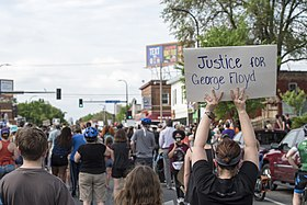 Protest against police violence - Justice for George Floyd, May 26, 2020 25.jpg