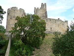 Prudhoe Castle - Image: Prudhoe Castle 2