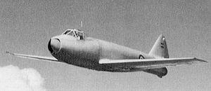 FMA IAe 33 Pulqui II - The I.Ae. 27 Pulqui I prototype in 1951