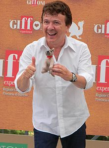 Pupo at Giffoni Film Festival in 2010