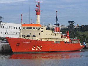 ARA Puerto Deseado - Image: Q20ARAPuerto Deseado