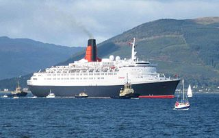 <i>Queen Elizabeth 2</i> Retired ocean liner and cruise ship from the United Kingdom