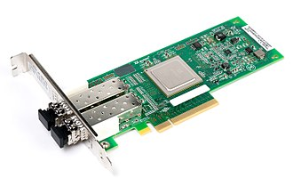 Fibre Channel - Dual port 8Gb FC host bus adapter card.