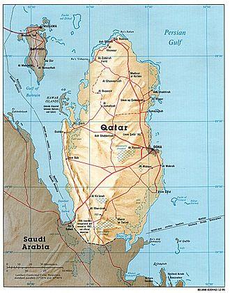 qatar zeitzone