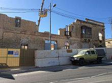 A Partially Demolished House In Qormi, Malta