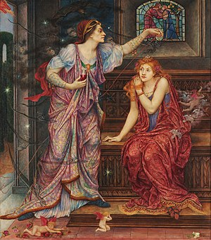 1905 in art - Image: Queen Eleanor & Fair Rosamund