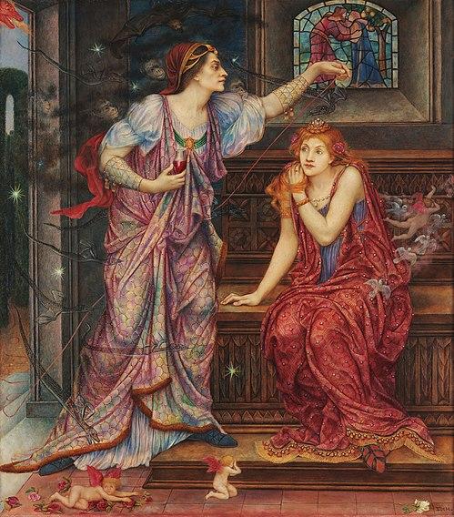File:Queen Eleanor & Fair Rosamund.jpg
