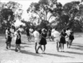 Queensland State Archives 1626 Teachers Training College folk dancing Brisbane April 1951.png
