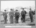 Queensland State Archives 3276 Inspection of works by Bridge Board Mr Story Mr Brigden Dr Bradfield Mr Kemp and Mr Holt 17 March 1936.png