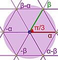 Réseau (géométrie) symétrie hexagonale.jpg