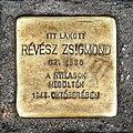 Révész Zsigmond stolperstein Bp08 Nagy Fuvaros18.jpg