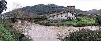 Lea-Artibai - The Artibai river in Berriatua.