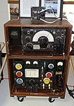 R1155 receiver, with DF indicator, and T1154L transmitter, British World War II radio equipment - Collings Foundation - Massachusetts - DSC07102.jpg