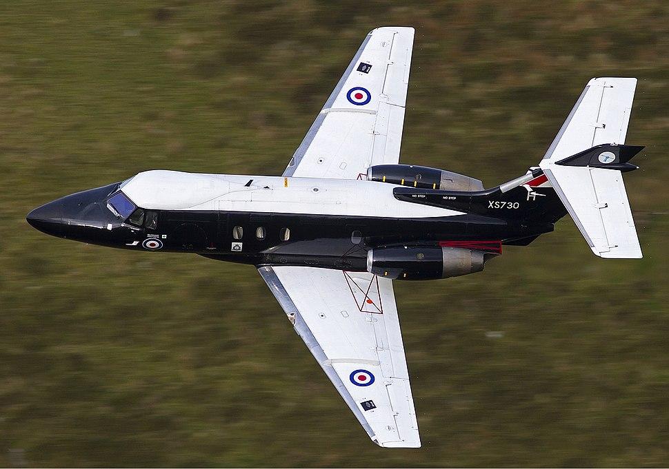 RAF Hawker Siddeley HS-125-2 Dominie T1 Lofting-1