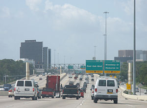 "Interstate 610 (Texas) - I-610 ""West Loop South"" just south from I-10 west"