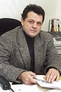 RIAN archive 836026 Ilya Altman, vice-president, Holocaust center.jpg