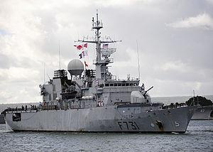 French frigate Prairial - Frigate Prairial