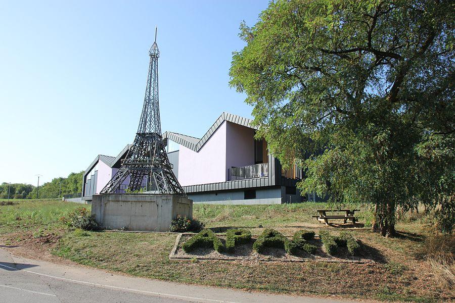 """""""Eiffelturm"""" in Apach"""