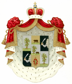 Romodanovsky family - Princely arms of the family