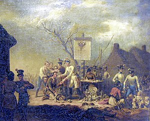 "Free City of Cracow - Galician slaughter (Polish ""Rzeź galicyjska"") by Jan Lewicki (1795-1871)"