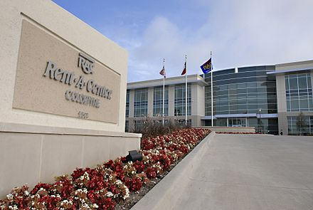 Rent-A-Center headquarters office building in Plano, Texas