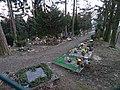 Radotín, hřbitov Otínská - Háj, od severozápadu.jpg