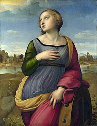 Raffaello Sanzio: Santa Caterina d'Alessandria