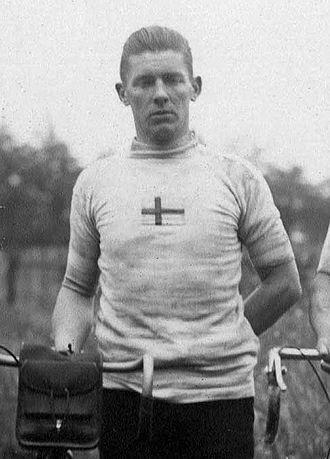 Ragnar Malm - Malm at the 1920 Olympics