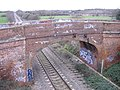 Rail bridge at Moredon - geograph.org.uk - 312551.jpg