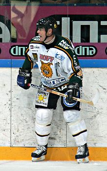 Photo de Raimo Helminen portant le maillot de l'Ilves Tampere.