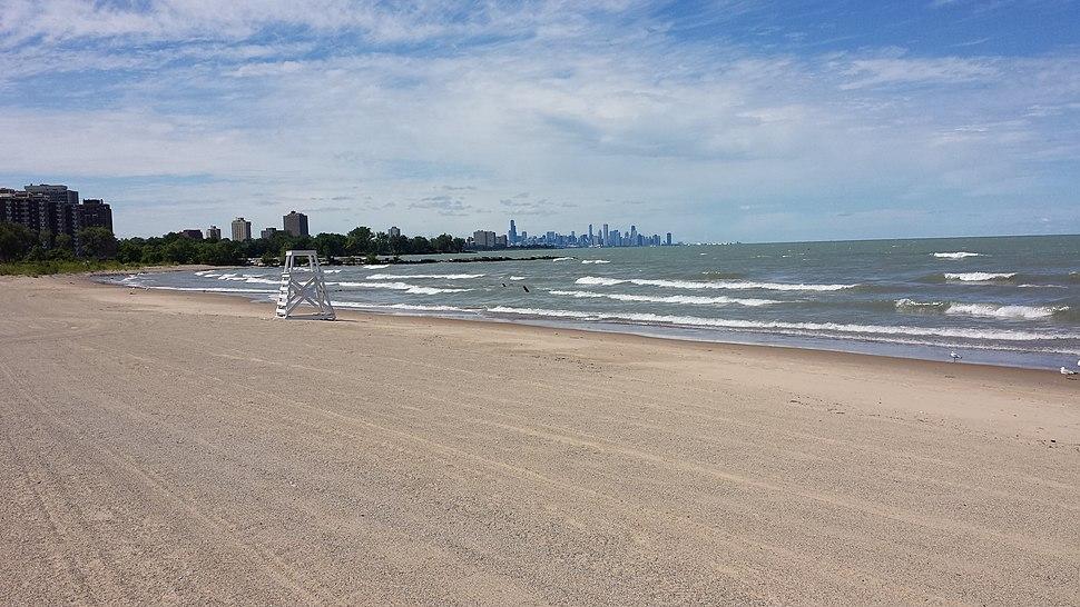 Rainbow Park Beach Chicago
