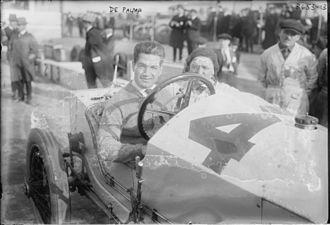 1915 Indianapolis 500 - Ralph DePalma at the 1915 Indianapolis 500