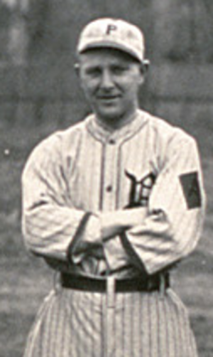 Ralph Mattis - Mattis as a member of the Pittsburgh Rebels in 1914.
