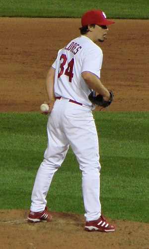 Randy Flores - Flores with the St. Louis Cardinals
