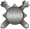 Navy EOD rating insignia