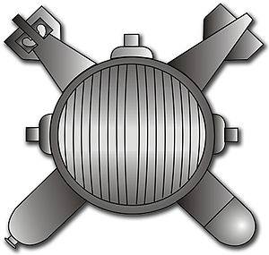 Explosive Ordnance Disposal Badge - Navy EOD Rating Insignia